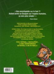Total foot goal ; l'encyclopédie du foot - 4ème de couverture - Format classique
