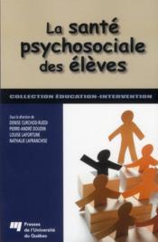 La santé psychosociale des élèves - Couverture - Format classique