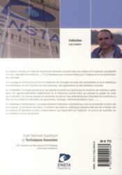 Introduction au calcul des probabilités et à la statistique (2e édition) - 4ème de couverture - Format classique