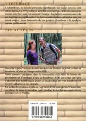 Le bambou, ça rend fou.... - 4ème de couverture - Format classique