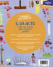 Londres ; pour en savoir plus que les grands (3e édition) - 4ème de couverture - Format classique