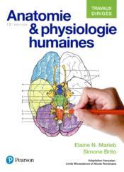 Anatomie et physiologie 12e ed travaux diriges - Couverture - Format classique
