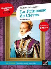 La princesse de Clèves ; 1re ; parcours : individu, morale et société (édition 2020) - Couverture - Format classique