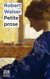 Petite prose - Couverture - Format classique