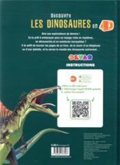 Découvre les dinosaures en 4D - 4ème de couverture - Format classique