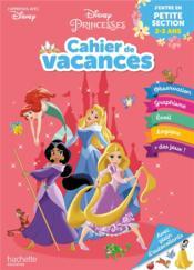 Disney princesses ; cahier de vacances ; j'entre en PS - Couverture - Format classique
