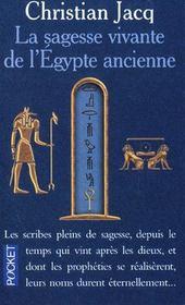 La sagesse vivante de l'Egypte ancienne - Intérieur - Format classique