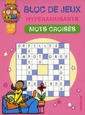 Bloc de jeux hyperamusants ; mots croisés - Couverture - Format classique