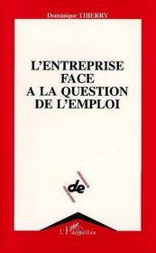L'Entreprise Face A La Question De L'Emploi - Intérieur - Format classique