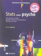 Stats pour psycho - Intérieur - Format classique