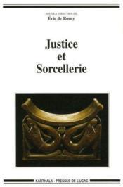Justice et sorcellerie - Couverture - Format classique