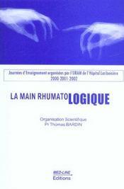 La main rhumatologique (édition 2000/2001/2002) - Intérieur - Format classique