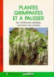 Les Plantes Grimpantes Et A Palisser - Couverture - Format classique