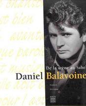 Daniel balavoine de la scene au sahel - Intérieur - Format classique