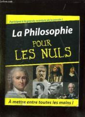 La Philosophie Pour Les Nuls - Couverture - Format classique