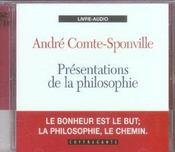 Presentations de la philosophie - Intérieur - Format classique