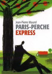 Paris-Perche Express - Intérieur - Format classique