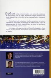 Tabler sur le plaisir ; tactiques et stratégies de communication - 4ème de couverture - Format classique
