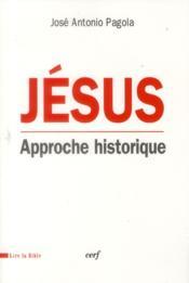 Jesus Approche Historique - Couverture - Format classique