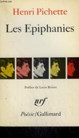 Les Epiphanies. Collection : Poesie. - Couverture - Format classique