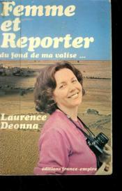 Femme Et Reporter. Du Fond De Ma Valise... . - Couverture - Format classique