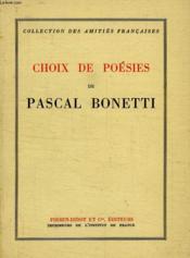 Choix De Poesies - Couverture - Format classique