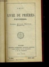 Livre De Prieres Paroissial - Couverture - Format classique