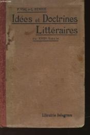 Idees Et Doctrines Litteraires Du Xvii° Siecle - Couverture - Format classique