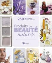 Produits de beaute naturels - Couverture - Format classique