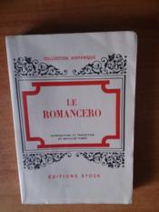 Le Romancero - Couverture - Format classique