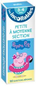 Les incollables ; révise avec Peppa Pig ; de la PS à la MS - Couverture - Format classique