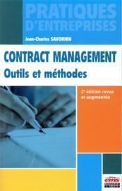 Contract management ; outils et méthodes (2e édition) - Couverture - Format classique