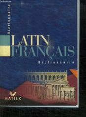 Dictionnaire latin / français - Couverture - Format classique