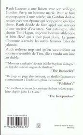 Mort Sur Catalogue - 4ème de couverture - Format classique