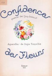 Confidences de fleurs - Couverture - Format classique