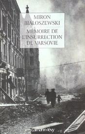 Memoire de l'insurrection de varsovie - Intérieur - Format classique