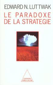 Le paradoxe de la strategie - Couverture - Format classique