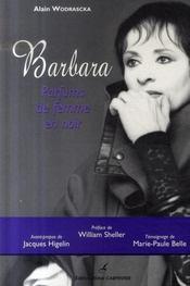 Barbara ; parfums de femme en noir - Intérieur - Format classique
