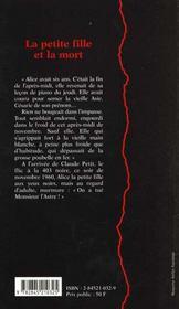 La Petite Fille Et La Mort - 4ème de couverture - Format classique