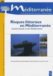 Risques littoraux en Méditerranée ; coastal hazards in the mediterranean - Couverture - Format classique