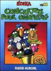 EDIKA T.10 ; concertos pour omoplates - Couverture - Format classique