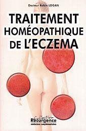Traitement Homeopathique De L'Eczema - Couverture - Format classique