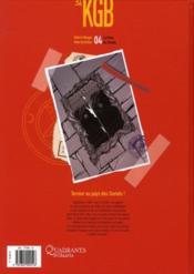 KGB t.4 ; la porte du paradis - 4ème de couverture - Format classique