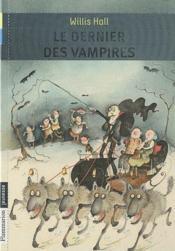 Le dernier des vampires - Couverture - Format classique
