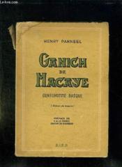 Ganich De Macaye. Gentilhomme Basque. - Couverture - Format classique