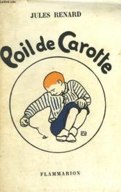 Poil De Carotte. - Couverture - Format classique