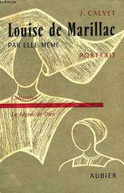 Sainte Louise De Marillac Par Elle-Meme, Portrait - Couverture - Format classique