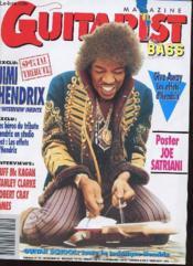 Guitariste Bass Magazine N°52 - Exclu Jimi Hendrix - Couverture - Format classique