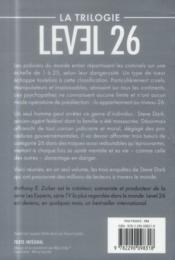 Level 26 ; la trilogie - 4ème de couverture - Format classique