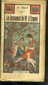 Le Testament De M. D'Erquoy - Couverture - Format classique